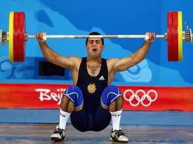 Dikrán Mardirossian, medalla de bronce en los Juegos Olímpicos de Beijing, China.