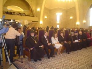 Nuestra Diócesis estuvo representada por el Primado de la Iglesia Apostólica Armenia para la Argentina y Chile, Arzobispo Kissag Mouradian.