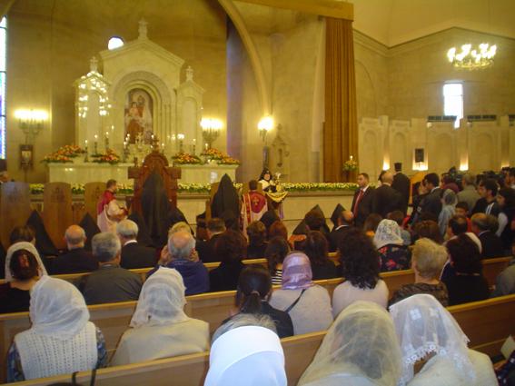 Ceremonia ecuménica en la Catedral San Gregorio El Iluminador de Ereván