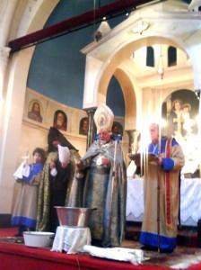 El Primado de la Iglesia Apostólica Armenia para la Argentina y Chile, Arz. Kissag Mouradian