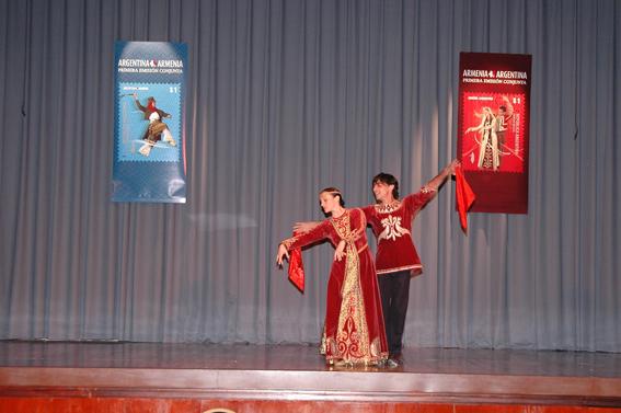 Vahram Ambartzoumian y Teresa Sargsian,  en